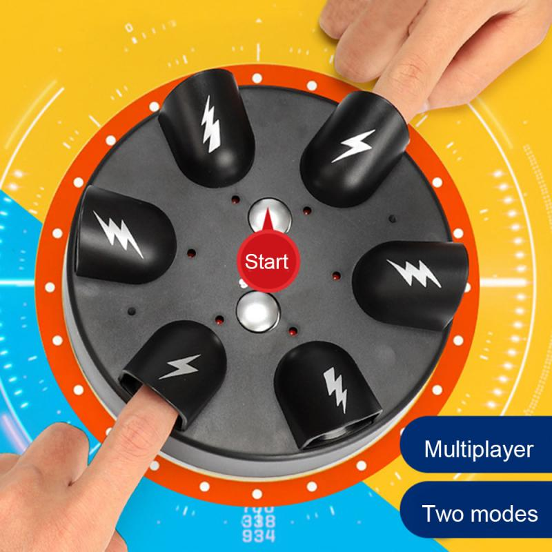Amazing Electric Shock Finger Polygraph Roulette Lie Detector Practical Jokes Toy Funny Test Tricky Liar Truth Party Game
