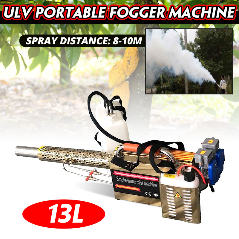13L ULV Portable Thermal Fogger Machine Disinfection Fogging Machine ULV Sprayer Nebulizer Term with CE for mosquito Pest