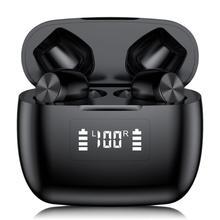 TWS T9 5.0 Bluetooth Earphone Wireless Touch Earbuds Noise Cancel S tereo Headphones
