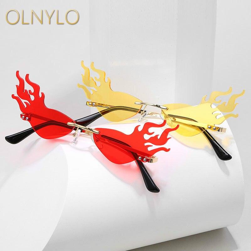Солнцезащитные очки, мужские и женские, металлические, бескаркасные, уличные, с защелкой, в европейском и американском стиле|Женские солнцезащитные очки|   | АлиЭкспресс