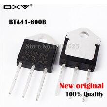 5PCS BTA41-600B BTA41-600 Triac 600V 40A Free shiping BTA41600B BTA41600 BTA41 TO-3P 40A IC 20pcs bta16 bta16 600b bta16 600 triac 600v 16a