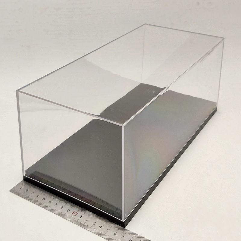1:18 Scale Model Car Acrylic Case Display Box Transparent Dustproof Gift