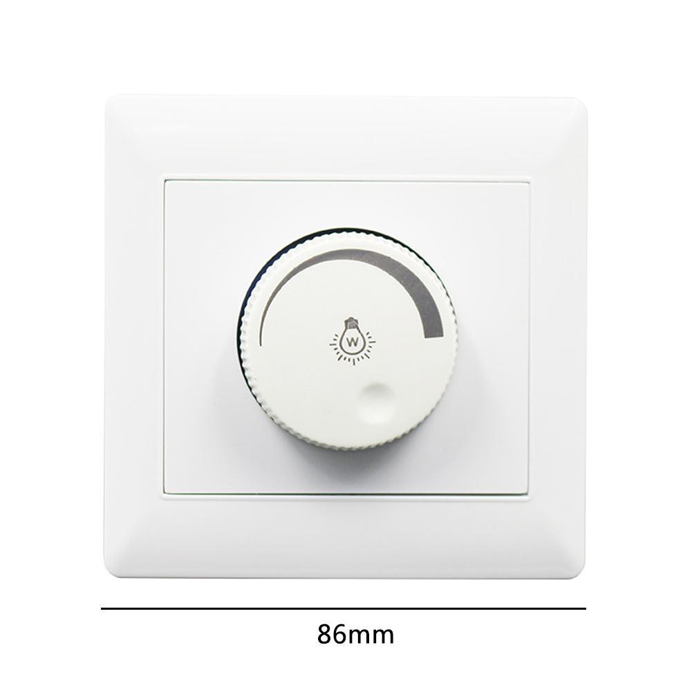 100W 220V interruptor de atenuación 86 tipo de instalación oculta controlador de atenuación LED para luz de techo regulable foco de luz descendente
