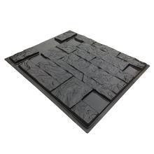 65*55cm 3D Plastic Brick mold wall Concrete Molds C