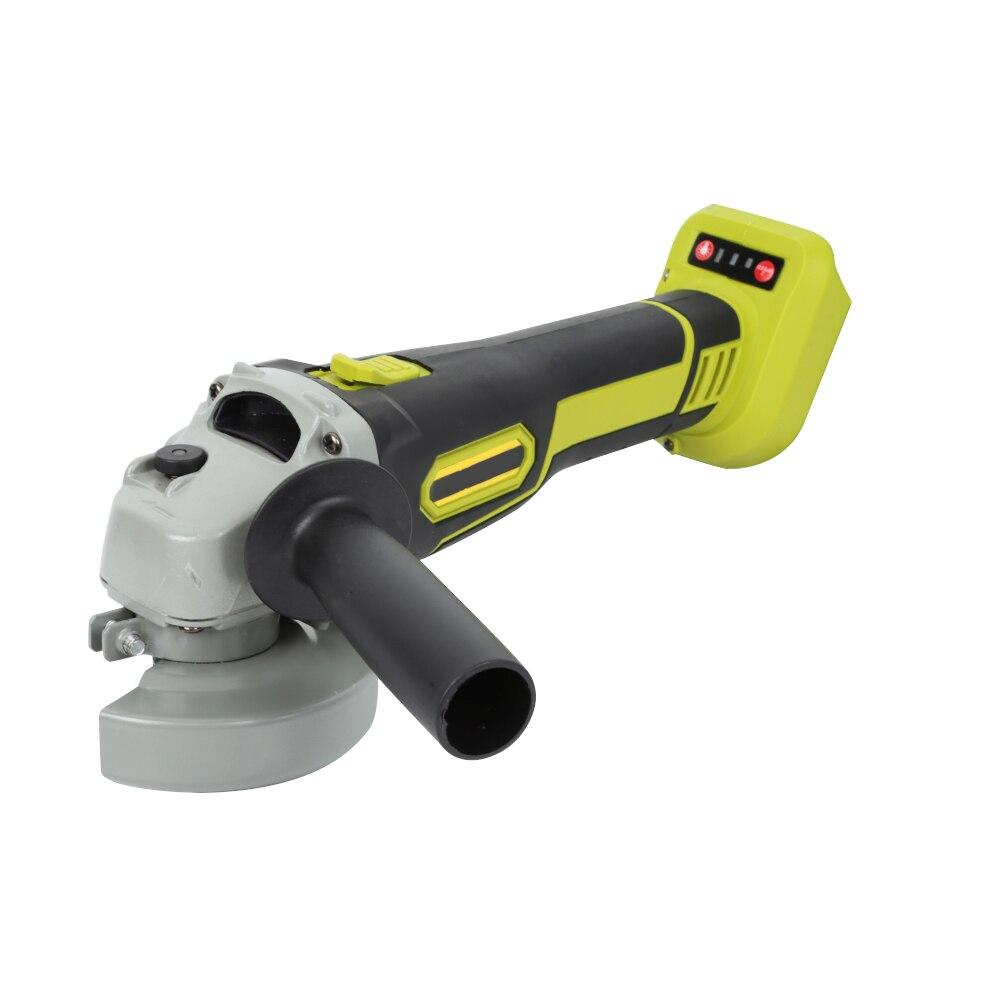 Hot 155mm Winkel Grinder 10000rpm Schleifen Maschine Cut Holz Metall Stein 2 Geschwindigkeit 68V Cordless Winkel Grinder