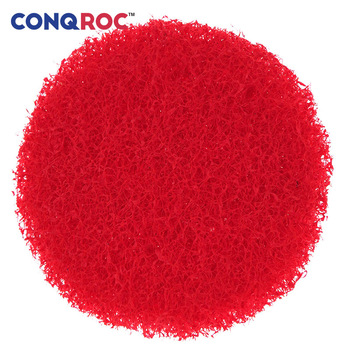 10pcs 100mm 4 Inch Red Scouring Discs Hook Loop Scouring Pads Fruit Vegetable Leather Cleaning Rust Remover for Electric Drill фото