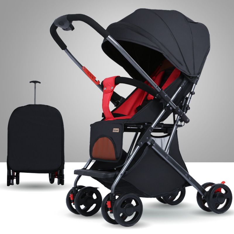 The Stroller Can Be Seated In A Two-way Ultra-light Portable Folding Newborn BB Children's Pocket Trolley