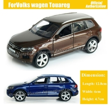 1:36 Scale Diecast סגסוגת מתכת יוקרה SUV ForVolks wagen טוארג אוסף דגם למשוך בחזרה צעצועי רכב