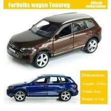 1:36 ölçekli Diecast alaşım Metal lüks SUV araba modeli ForVolks wagen Touareg koleksiyon Model geri çekin oyuncak araba