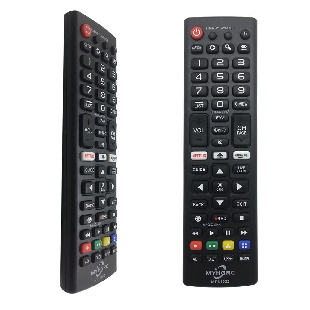 Universal Ersatz Fernbedienung f/ür LG LCD TV AKB73756504