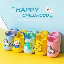 0-5Y Kids Mules&Clogs Summer Boy Girl Sandals Soft Flat Heel Cartoon Non Slip Beach Slippers Children Garden Shoes Toddler Shoes