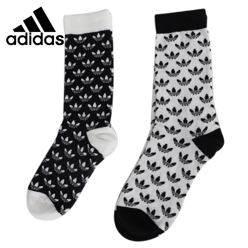 Original New Arrival Adidas Originals THIN CR SOCK GR Unisex Sports Socks( 2 Pairs )
