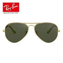 Солнцезащитные очки RayBan RB3025 для мужчин и женщин, Ретро стиль, солнцезащитные очки Ray Ban Aviator 3025