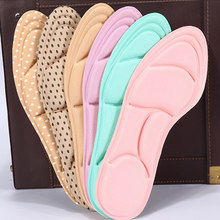 5D Flock Memory Foam Orthotic Insoles Arch Support Orthopedic Insoles For Shoes Flat Foot Feet Care Sole Shoe Orthopedic Pads(China)