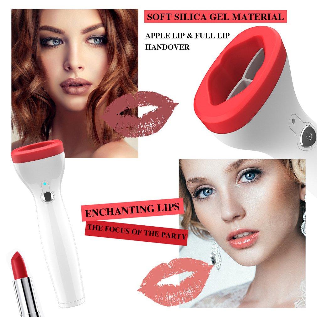 Dispositivo de relleno de labios de silicona automático Dispositivo de relleno de labios eléctrico herramienta de belleza más grande labios más gruesos