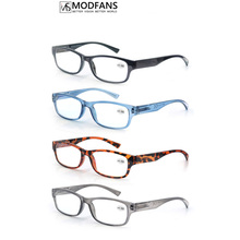 Rectangle Reading Glasse For Men Square Frame Women Presbyopic Diopter Sight Spring High Flexible Lightweight Eyeglasses
