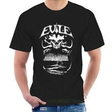 Evile Tee Thrash Metal Heavy Metal Band S-3XL T-Shirt Ben Carter Summer Short Sleeves Fashion T Shirt @103898