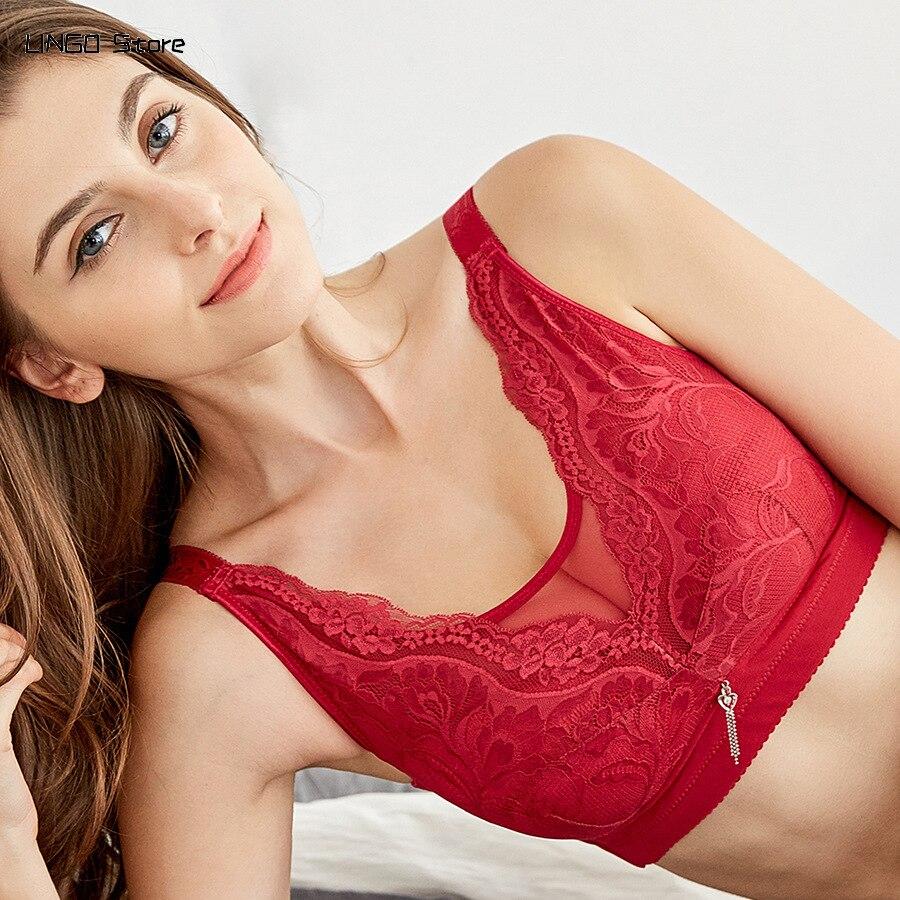 Wireless Bra Sexy Underwear Push Up Bra Lingerie for Women Set Minimizer Plus Size Bralette Bras for Women Top Women's Intimates