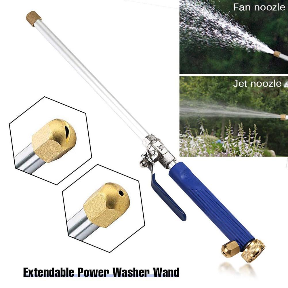 Meijuner Car High Pressure Water Gun 46cm Jet Garden Washer Hose Wand Nozzle Sprayer Watering Spray Sprinkler Cleaning Tool