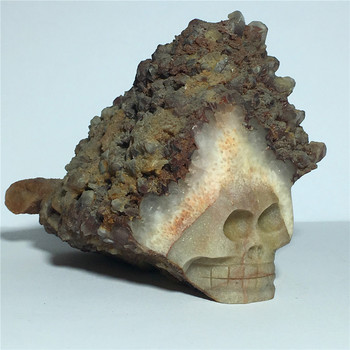 Natural red quartz crystal skulls for sale Stones and crystals home decoration decorative crystal