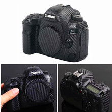 กล้องป้องกันผิวคาร์บอนไฟเบอร์สติกเกอร์ฟิล์มสำหรับCanon EOS R5 R6 800D 250D 200D 80D 90D 5Ds 5D III IV 6D II SL3 SL2 T7i