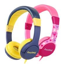 אופנה חמוד ילדים אוזניות אוזניות צבעים בוהקים ילדי מתקפל אוזניות לxiaomi Mp3/4 smartphone בנות יום הולדת מתנות