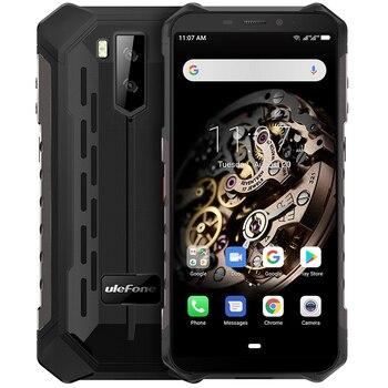 Перейти на Алиэкспресс и купить Ulefone Armor X5 ударопрочный мобильный телефон с 5,5-дюймовым дисплеем, восьмиядерным процессором, ОЗУ 3 ГБ, ПЗУ 32 ГБ, Android 9,0, 5000 мАч