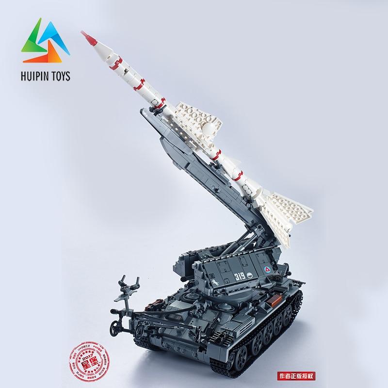 1623Pcs XINGBAO Building Blocks 06003 легоe Military MOC Series SA-2 GUIDELINE Missile Vehicle Tank Model Children Toys 4px