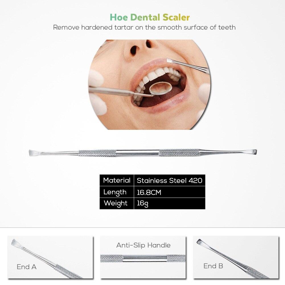 4 шт. стоматологический инструмент стоматологическое зеркало набор из нержавеющей стали рот зеркало стоматологический набор инструмент Ст...