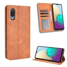 Katlanır standı katı PU deri cüzdan kılıf Samsung Galaxy A02 A32 A42 A52 A72 5G S20 S21 artı a51 A71 4G M31 telefonu çantası