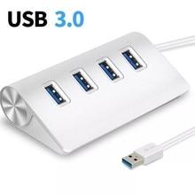 USB 3,0 концентратор мульти 4 Порты и разъёмы 5 Гбит/с, высокая Скорость Мощность адаптер Мульти USB 3,0 док-станция USB разветвитель адаптер для ноу...