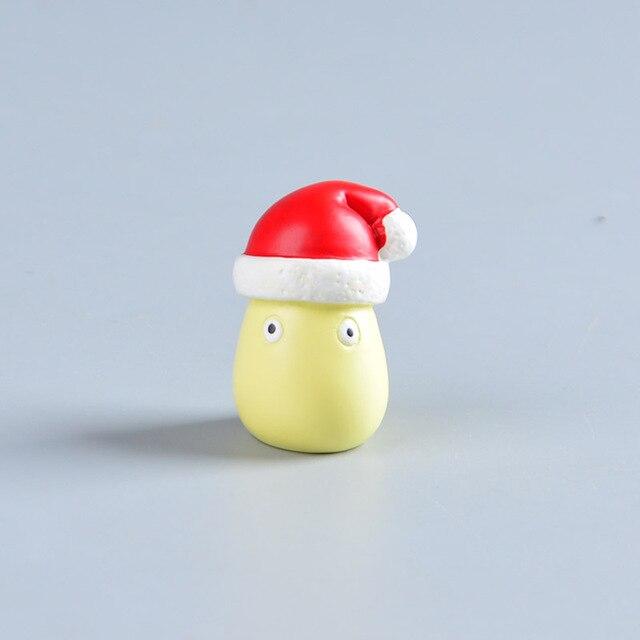 Аниме фигурки Тоторо Рождество 6