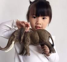 Детская игрушка модель тигра большая дикая животное ручная работа