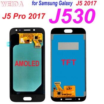 AAA+ Samsung Galaxy J5 Pro 2017 J530 LCD for Samsung Galaxy J5 2017 J530 J530F J530M LCD Display Touch Screen Digitizer Assembly for samsung galaxy j5 lcd for samsung j5 j500 j500f j500fn j500y j500m adjustable lightness lcd display touch screen digitizer