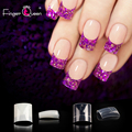 Типсы для ногтей 500p/100 шт./упак. французские искусственные ногти натуральные/прозрачные короткие ногти подходят для профессионального сало...