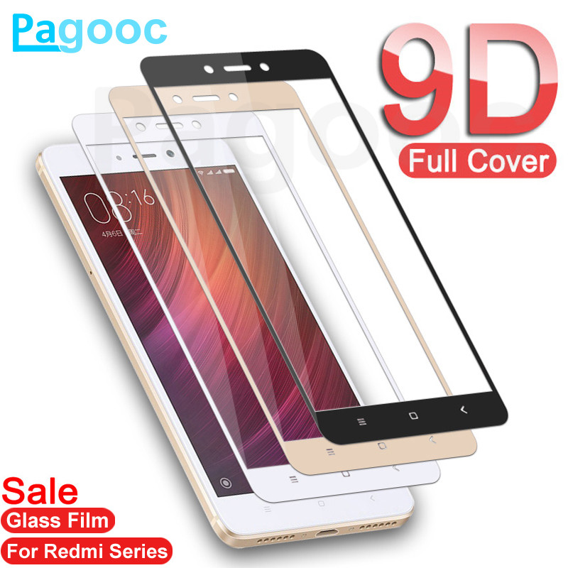 <font><b>9D</b></font> Tempered Glass on the For <font><b>Xiaomi</b></font> <font><b>Redmi</b></font> Note 4 <font><b>4X</b></font> 5 5A Pro Screen Protector For <font><b>Redmi</b></font> 5 Plus 5A 4A <font><b>4X</b></font> Protective Glass Film image
