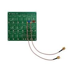 Zestaw demonstracyjny RF DYKB NanoVNA RF Tester tłumik filtra dla NanoVNA wektor analizator sieci antena/spektrum
