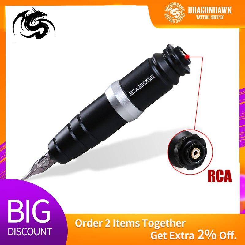 Mais novo rotativo tatuagem caneta forte fonte do motor de alta qualidade cartuchos forro sombreamento suprimentos