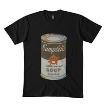 Sopa para minha família clássico t camisa 173dmn cuello redondo sudadera negro