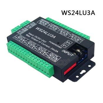 Constant pressure DC5V-24V DC12V-24V 3CH/4CH/9CH/24CH/27CH  RGB DMX decoder,  DMX 512 Controller for led lamp led light цена 2017