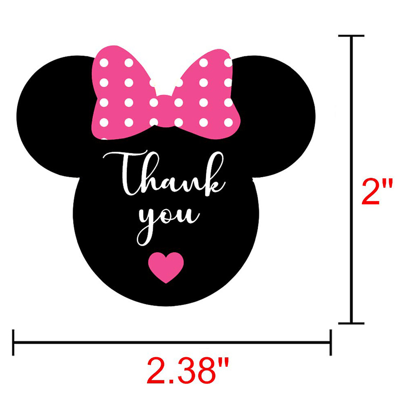 200 Thank You STICKERS SEALS LABELS  ENVELOPE//PACKAGE