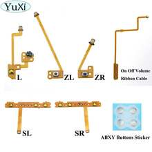 Yuxi zl zr l лента с кнопками гибкий кабель для переключателя