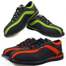 Большой размер 34-46 обувь для боулинга для мужчин и женщин профессиональные Нескользящие кроссовки унисекс Спортивная обувь пара моделей обувь для боулинга