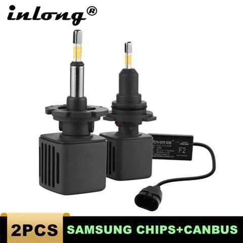 com os lados 4 chips da samsung mini h4 led h7 10000lm d2s h1 h9