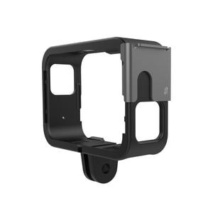 Image 2 - מגן מסגרת קסדת קבוע מסגרת מחזיק הר עבור מקורי SJCAM SJ9 Max Strike Sj4000X פעולה מצלמה אבזרים
