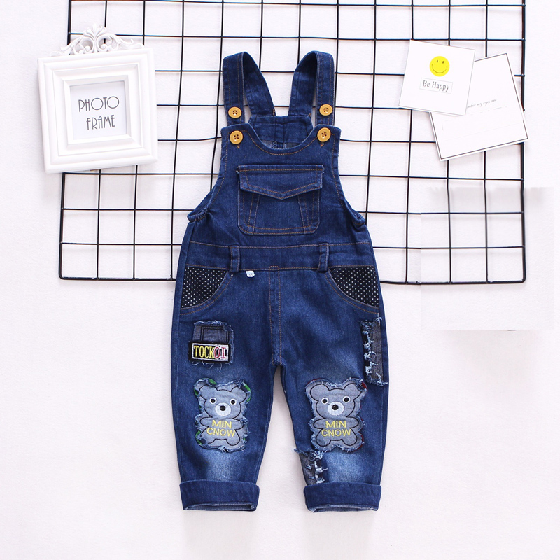 IENENS Infant Baby Boys Clothes Jeans Pants Kids Trousers Shorts Overalls