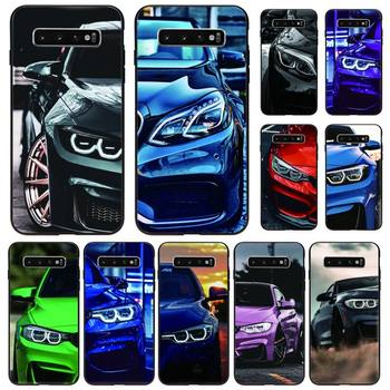 Red And Blue Bmw Car Phone Case Black For Samsung S5 6 6Edge 7 8 9 10 10Lite 10Plus 20 20lite 20Ultra Cases image
