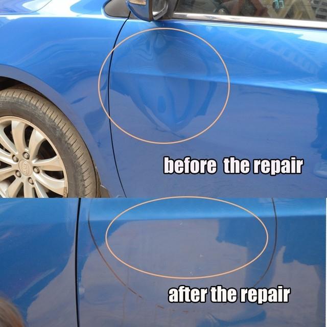 Tools Auto Repair Tool Car Dent Repair Dent Puller Kit 2 in 1 Slide Hammer Reverse Hammer Glue Tabs Suction Cups 5