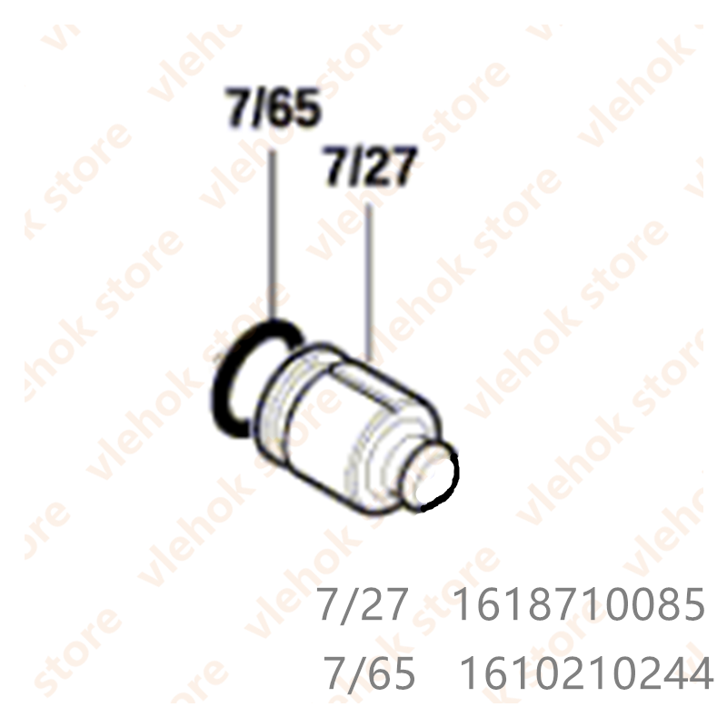 Striker For BOSCH GBH2-20D GBH2000 TBH2000RE GBH200 GBH2-20RE GBH18V-20 GBH180-LI GBH2-18RE GBH2-18E GBH2000D 1618710085