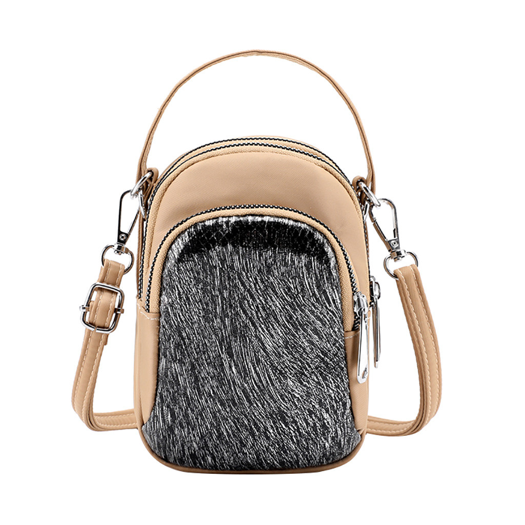 Women Mobile Phone Bag Cross Body Purse Shoulder Bag Mini Travel Hand Bag